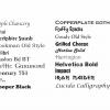 Vinyl Boat Names