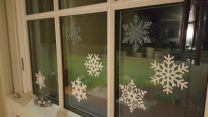 Christmas Snowflake Stickers