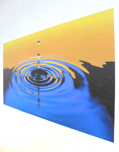 self-adhesive wall art